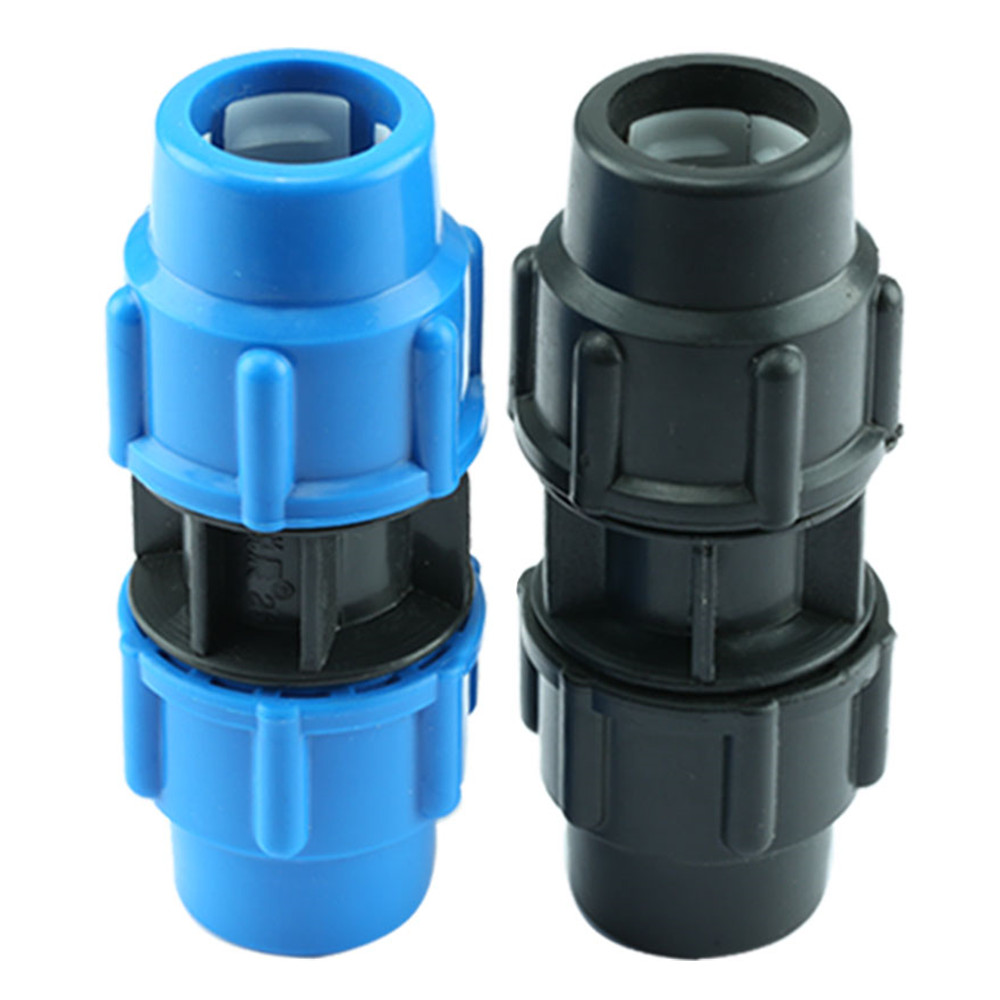 PE Pipe Fittings PE Pipe Quick Joint Pipe Fittings Tap Pipe Direct 20/25/32/40/50/63mm Fast Joint
