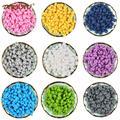 TYRY. HU 100 шт./лот грызунок чечевица Abacus круглые силиконовые бусы для прорезывания зубов, детский прорезыватель, сделай сам, цепочка для соски, ...