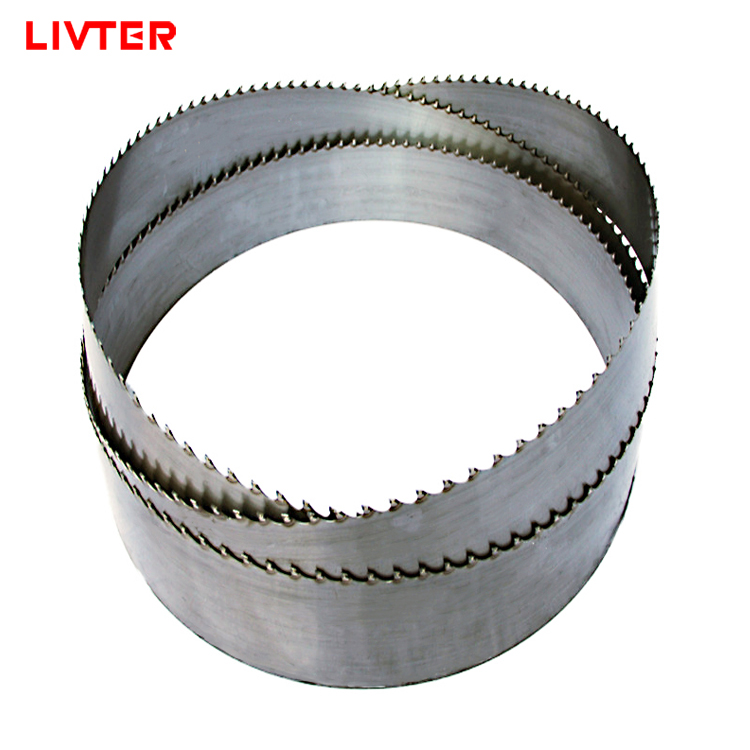 LIVTER Woodworking Alloy Band Saw Blades TCT Carbide Tip For Cutting Hardwood For Horizontal And Vertical Band Saw Machine
