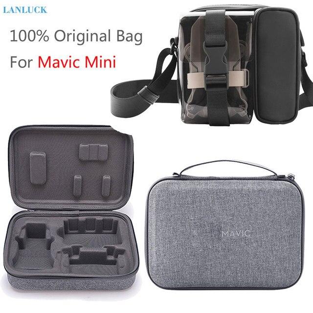 Para DJI Mavic Mini Mavic Air 2 bolsa de almacenamiento de drones bolso de hombro Estuche de transporte para DJI OSMO bolsillo Osmo accesorios de acción
