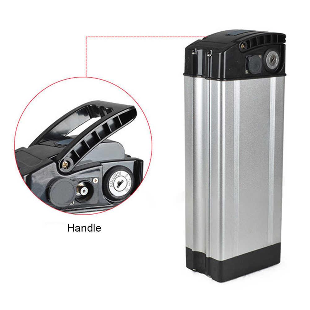 Батарея коробка защитный бокс для хранения электрический велосипед E-велосипед 36В 48В держатель Чехол Алюминий сплава и Пластик профессия Новый S20
