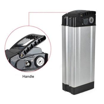Batterij Doos Beschermende Opslag Voor Elektrische Fiets E-Bike 36V 48V Houder Case Aluminium En Plastic beroep Nieuw S20