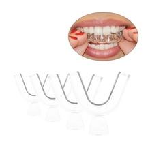 2 шт.% 2Fset силикон стоматология лоток зубы отбеливание лотки для зубов сжимание шлифовка стоматология прикус улучшение сон полости рта гигиена