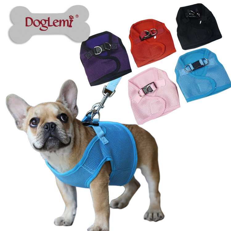 Dole M New Style Breathable Dog Chest Strap Small Medium Pet Rope Chest And Back Set Of Dog Traction Chest And Back