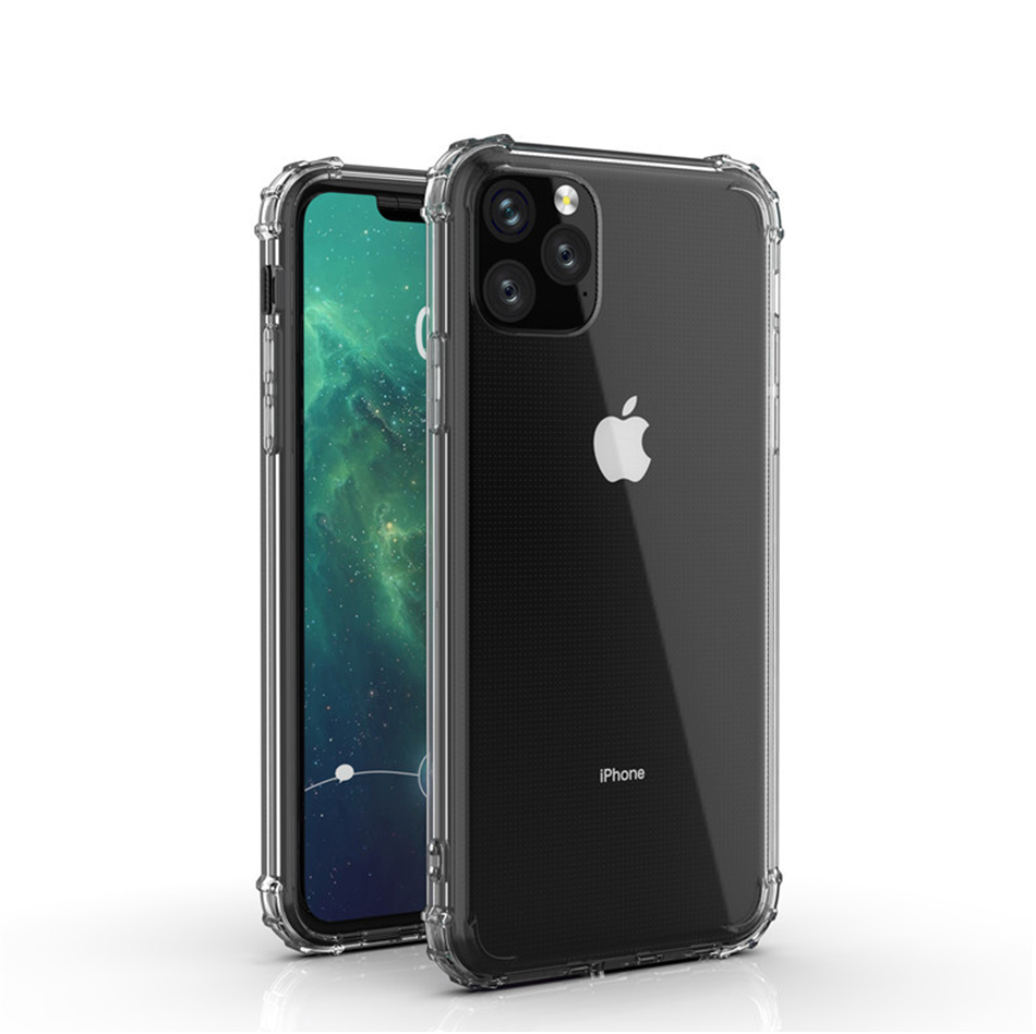 !ACCEZZ For iPhone 11 Case 2019 For iphone 11 Pro Max New Soft Cases Transparent Protection Back Cover Mobile Phone Shell Coque (9)