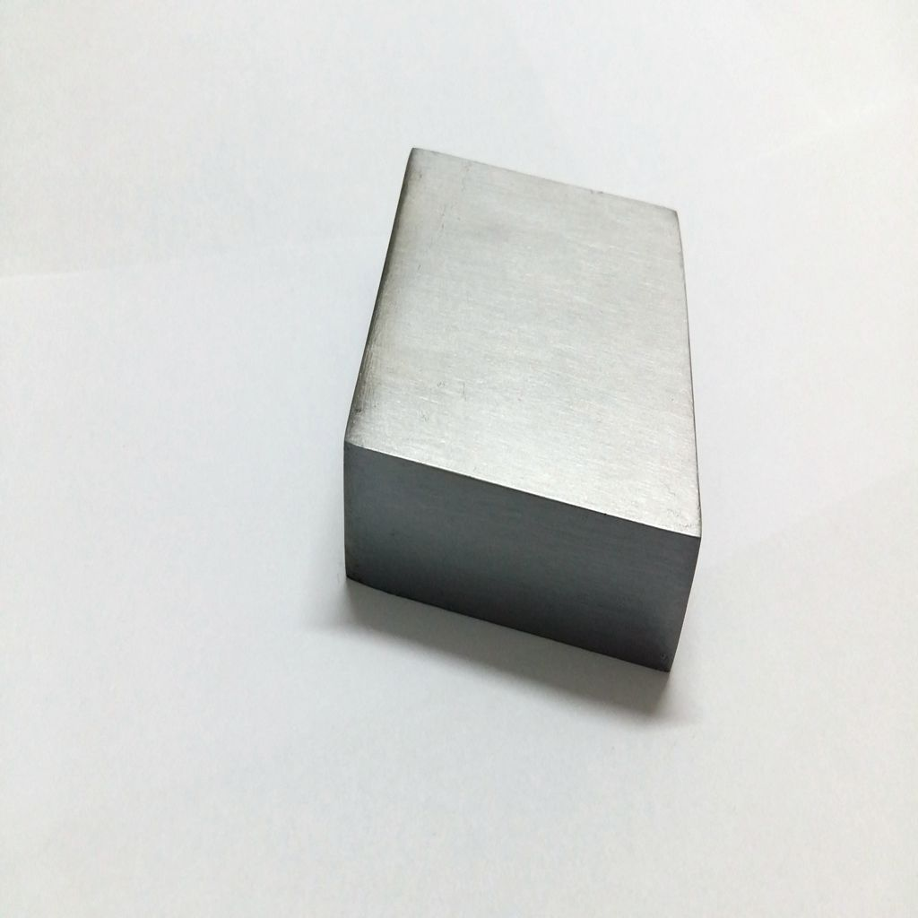 Steel Bench Block Square Hammer Stamp - Jewelry Making Work Surface Hardened Metal Anvil Tool