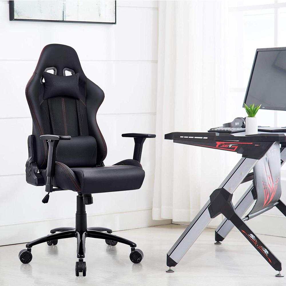 Executive Racing Gaming Chair Ergonomic Computer Office Chair  Sports High Back Play Gaming Chair