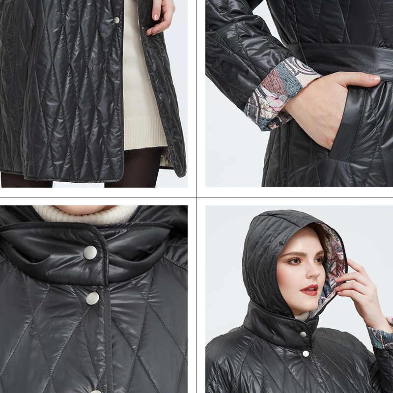 Astrid 2020 Frühjahr neue ankunft frauen jacke lose kleidung frauen plus größe lange mäntel mit а gürtel frühling mantel frauen AM-9428