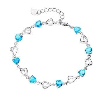 Bijoux Aigue Marine Bracelet