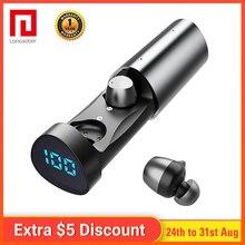 лучшая цена Langsdom T1Pro Bluetooth Earphone Wireless Headphone for Phone Xiaomi Headset Magnet Earbud With Mic Stereo Bluetooth Earpiece