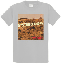 Bulk T Shirts Men'S Short Comfort Soft Crew Neck System Of A Down 'Toxicity' Shirt system of a down system of a down toxicity