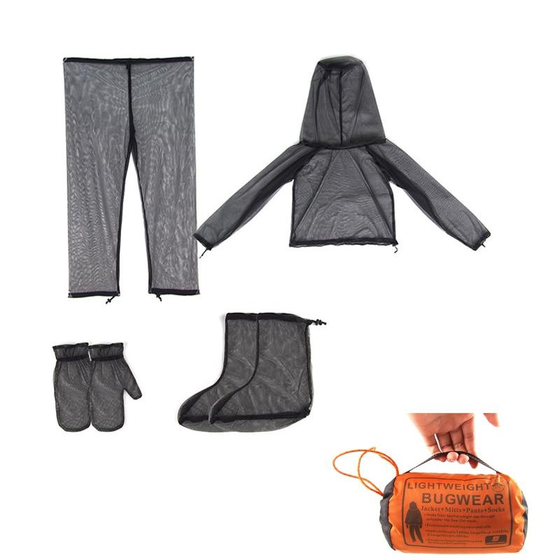 1 Set L Men Fishing Clothing Bites Prevent Suit Outdoor Anti-UV Long Pants