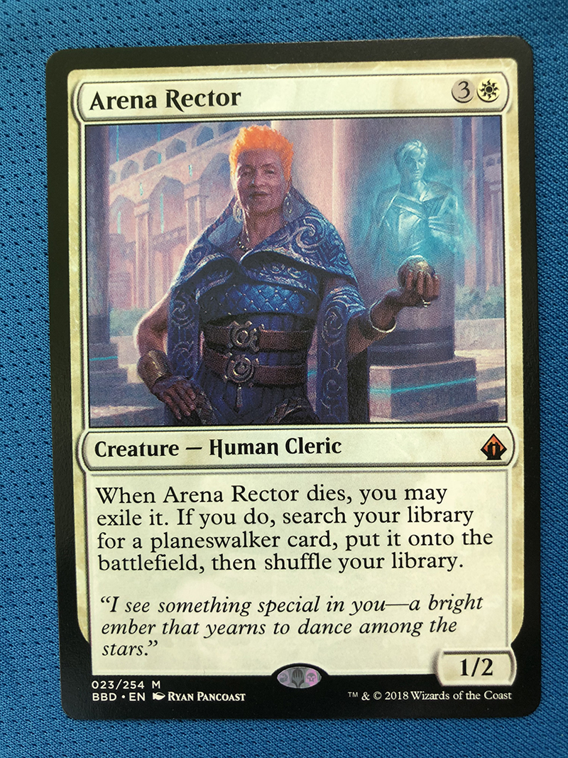 Arena Rector	BBD Hologram Magician ProxyKing 8.0 VIP The Proxy Cards To Gathering Every Single Mg Card.