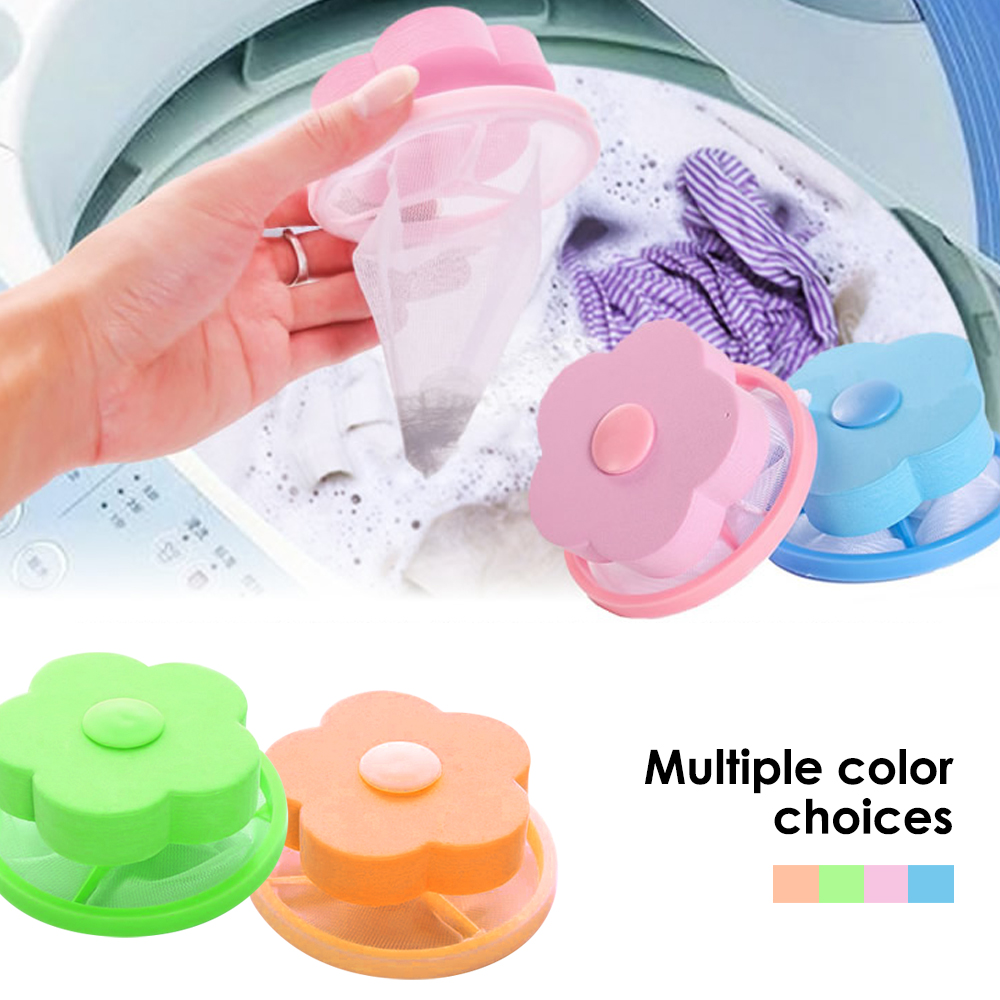 Floating Hair Removal Catcher Filter Mesh Pouch Cleaning Ball Bag Dirty Fiber Collector Wash Machine Filter Laundry Ball Discs