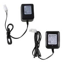 Rechargeable Battery Charger Ni-Cd Ni-MH Batteries Pack KET-2P Plug Adapter 9.6V 250mA Output RC Toy Y5JE