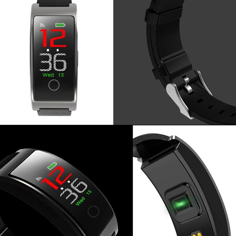 Image 5 - CK11S Smart band Blood Pressure Wristband Blood Oxygen Heart Rate Monitor Smart Bracelet Pedometer IP67 Waterproof smartbandsSmart Wristbands   -