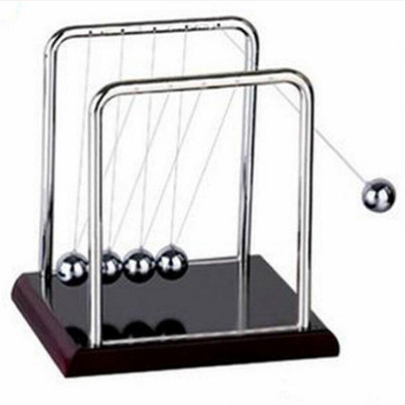 Ньютон, Обучающие Настольные игрушки, колыбель, стальной баланс, мяч, физическая школа, Обучающие принадлежности, аксессуары для украшения дома 1 Статуэтки и миниатюры      АлиЭкспресс