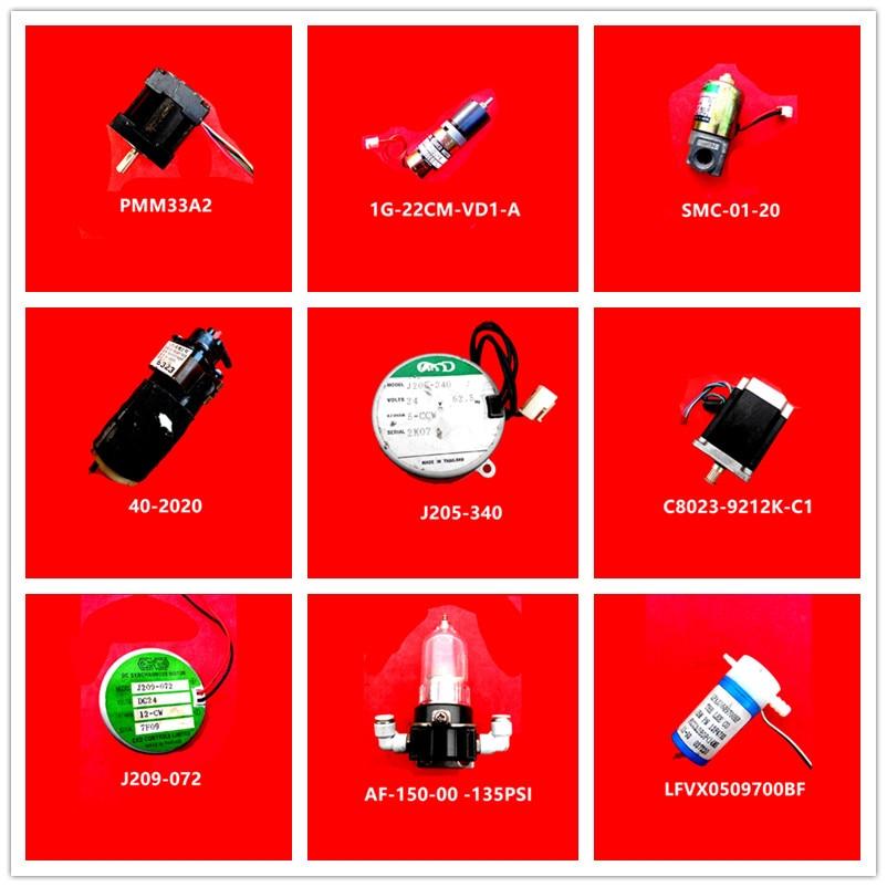 PMM33A2  312678  SMC-01-20  40-2020  J205-340  C8023-9212K-C1  J209-072  AF-150-00 -135PSI  LFVX0509700BF Used