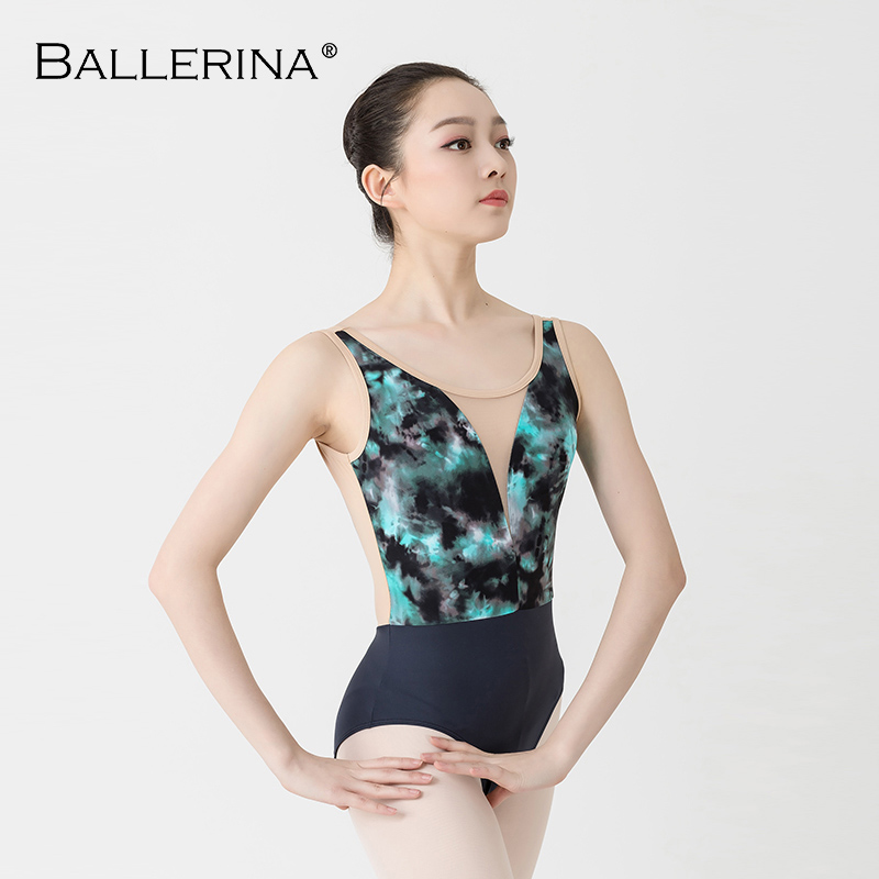 Dancewear For Women Ballet Leotard Dance Training Clothes Yoga Girls Adult Gymnastics Leotard Ballerina 2500