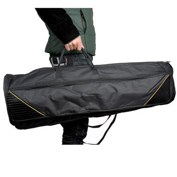 600D wodoodporny puzon torba koncertowa plecak oxford z materiału regulowane ramiączka kieszeń 5mm bawełna wyściełana na Alto Tenor tanie i dobre opinie Trombone Gig Bag Other