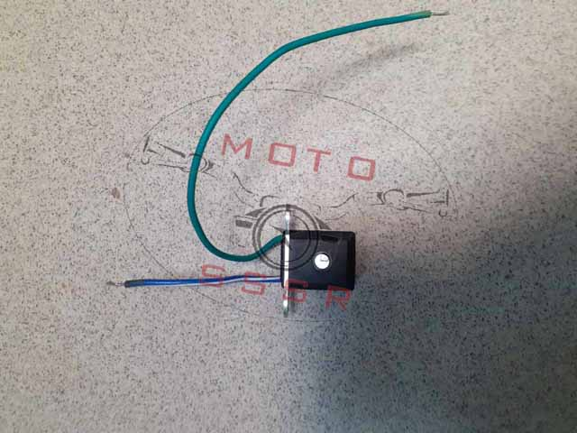 Датчик холла (зажигания) 139FMB,147FMH,152FMH; Alpha, Delta (два провода); для 2-х обм. статора