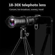 18-30X Zoom Telephoto Lens HD Monocular Telescope Phone Camera