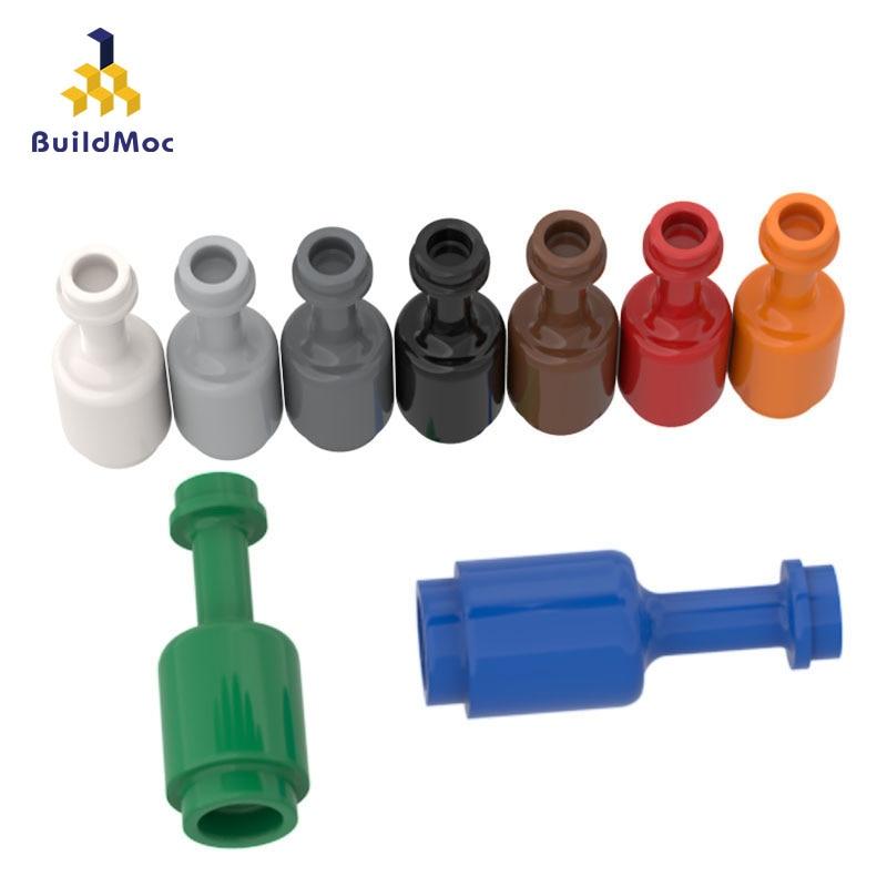 BuildMOC Compatible Assembles Particles 95228 Bott Inclined Grain Free Brick Building Blocks Parts DIY LOGO Educational Tech Toy