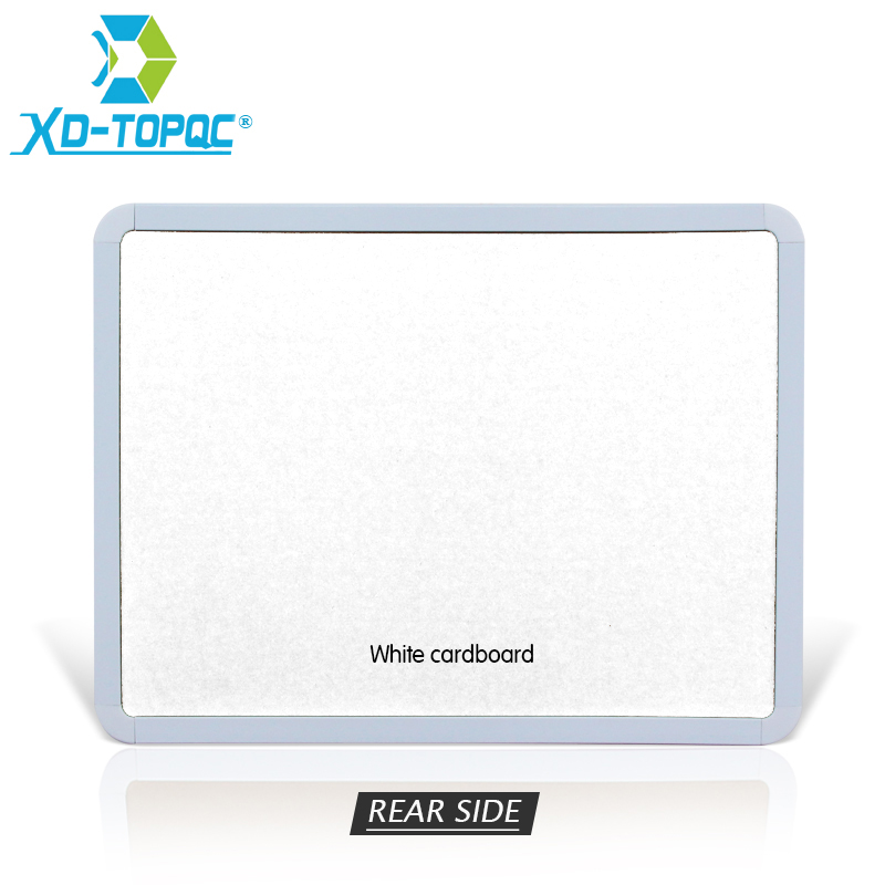 XINDI 28*36cm Magnetic Whiteboard PVC Frame Message White Board On Fridge For Home Decoration Message Drawing Board Notes WB01 3