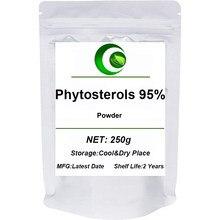 Pó de fitoesterol, suplementos de fitoesterol, mistura de fitoesterol, complexo de fitoesterol, ésteres de fitoesterol em pó de alta qualidade 95%