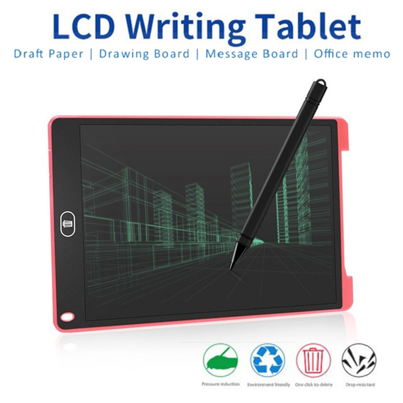 Digital Graphics Tablets 12 Inch Graphics Tablet For Kids & Adults LCD Writing Tablet Ultra-thin Board Handwriting Drawing Pad
