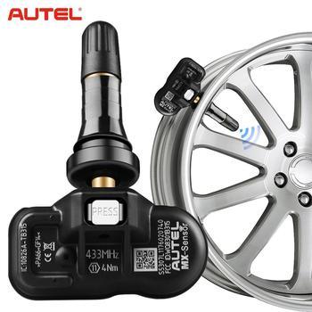 4PCS Autel 433MHz MX-Sensor M Universal Programmable Clamp-in TPMS Sensor Tire Pressure Tool