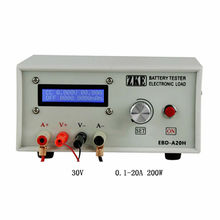 Latest version EBD A20H Battery Capacity Tester Electronic Load Power Tester Discharge Meter 20A