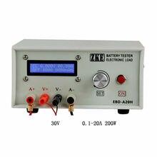 Probador de capacidad de batería EBD A20H de última versión medidor de descarga de potencia de carga electrónico 20A