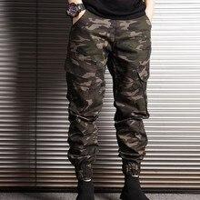 New Fashion Cotton Mens Harem Trousers Japan Style Camo Pencil Casual Pocket Jogger Pants Male Plus Size M-2XL