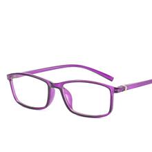 2020 nowy klasyczny Vintage okulary rama kwadratowe szkła płaskie krótkowzroczność lustro optyczne proste kobiety mężczyźni okulary ramki tanie tanio HJYBBSN Unisex Plastikowe tytanu CN (pochodzenie) GEOMETRIC 2+WH2821