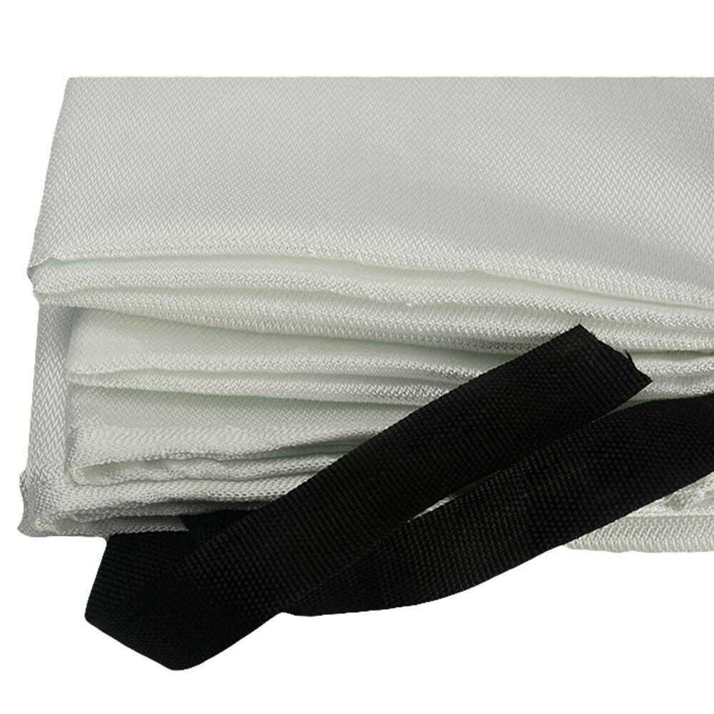 Welding Blanket Fire Flame Retardent Fiberglass Shield Fireproofing Accessories
