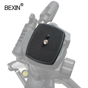 Image 5 - Lustrzanka cyfrowa plastikowa uchwyt adaptera statyw kamery głowica płyta szybkiego uwalniania kamera płyta podstawowa do trójwymiarowej głowicy statywu