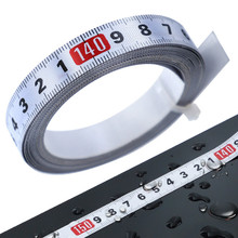 Scale-Ruler Tape-Measure Miter Self-Adhesive Metric Stainless-Steel Track Durable 1-5m