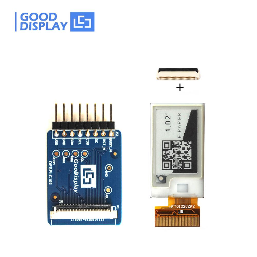 1.02 Inch E-paper Display Panel And Connector Board