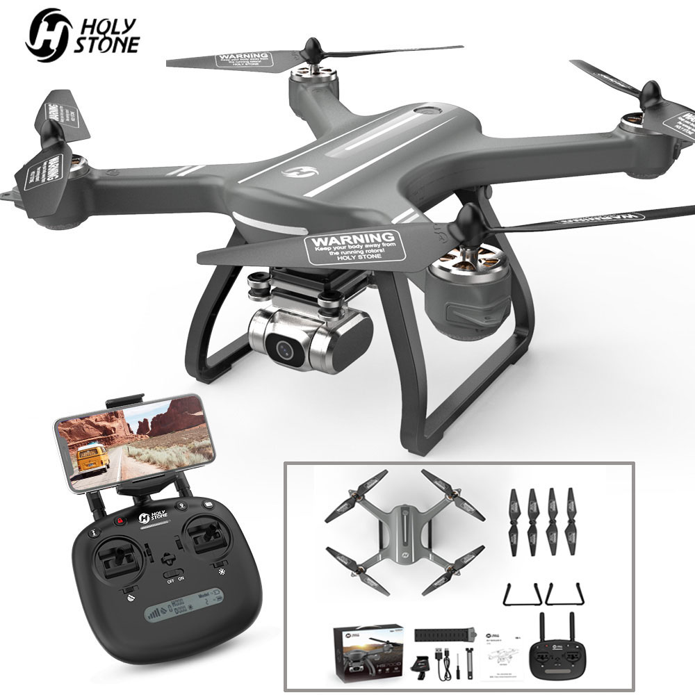 Holy Stone HS700D Quadcopter Drone GPS RC Quadrocopter With Camera 2K 5GHz WiFi FPV Helicopter 25KM/H 22 Mins Brushless Drone