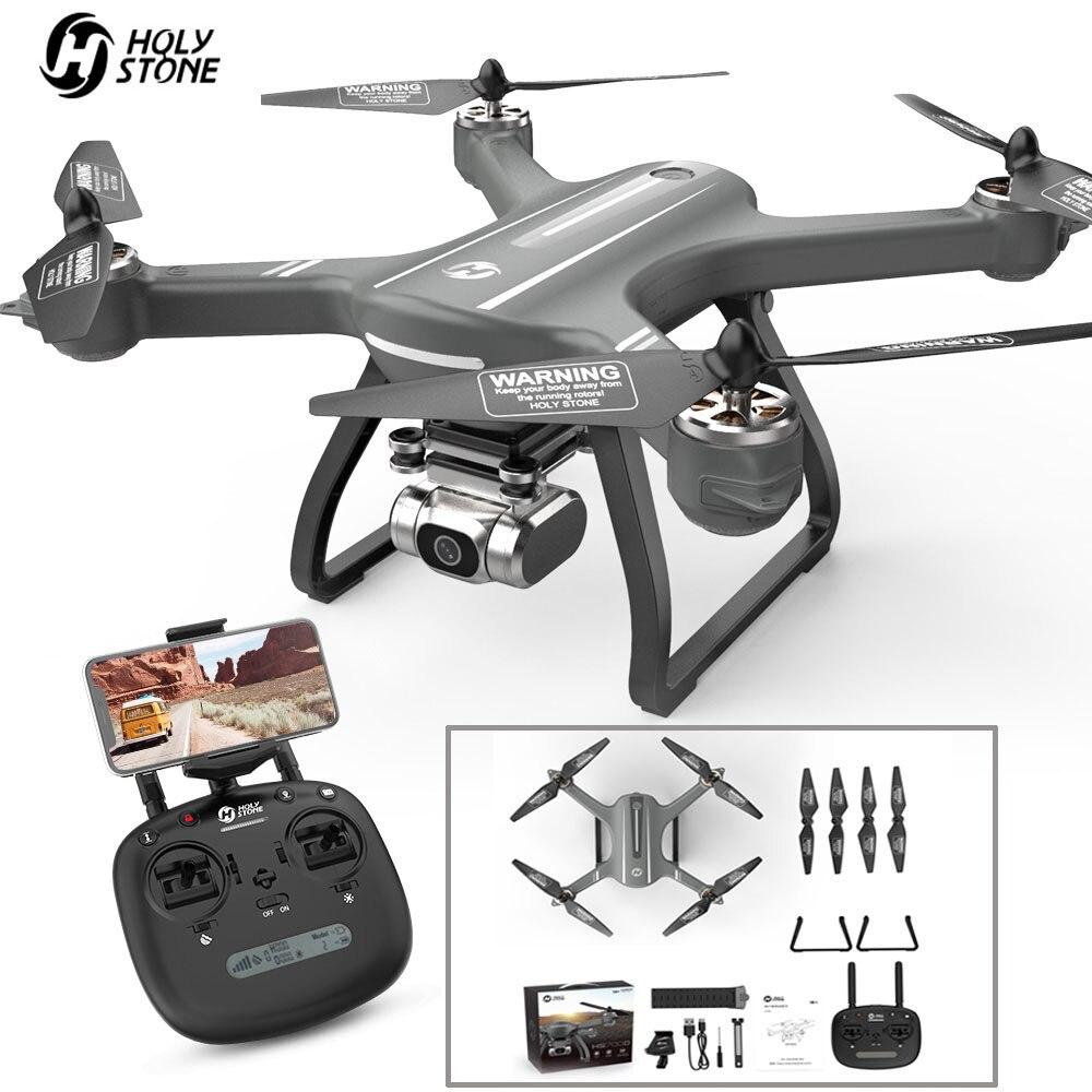Pierre sacrée HS700D quadrirotor Drone GPS RC quadrirotor avec caméra 2K 5GHz WiFi FPV hélicoptère 25 km/h 22 minutes Drone sans brosse