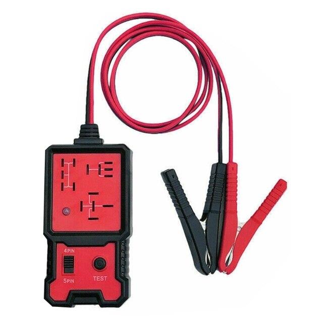 자동차에 대 한 12V 전자 자동차 릴레이 테스터 범용 자동 배터리 검사기 Dropshipping