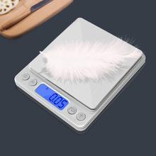 Электронные кухонные весы из нержавеющей стали 1 3 кг/01 г