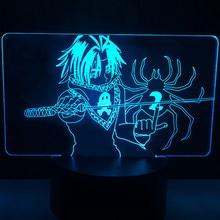 ILight sklep z pamiątkami Led lampka nocna Hunter X Hunter lampa Feitan lampka nocna HXH prezent akrylowa lampa 3d Feitan na dekoracja do pokoju dziecięcego