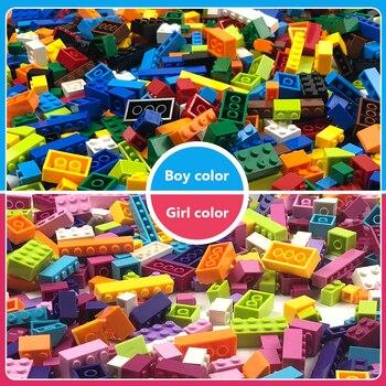 Building Blocks City Classic Brand Creative Bricks Bulk Model Figures Educational Kids Toys Small Size All Available 3