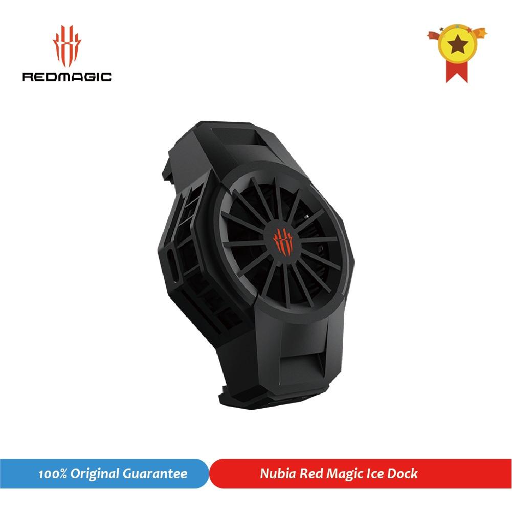 Оригинал, Nubia FunCooler рамка RedMagic льда док-станция для красный волшебный 5S 5G Вентилятор Cooler универсальный радиатор Мобильный телефон Аксессуар...