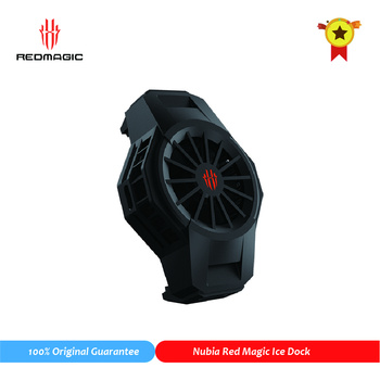 Original Nubia FunCooler RedMagic Ice Dock for Red Magic 5S 5G Fan Cooler Universal Radiator Mobile Phone Accessories