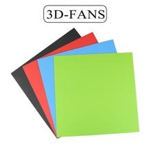חממה מדבקת 145/214/220/235/300mm חום מיטת קלטת הדפסת מדבקת לבנות צלחת קלטת עבור 3D מדפסת חלקי