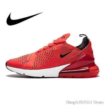 Comfortable Nike Air Max 270 180 Men's Sports Shoes Outdoor Running Shoes For Men AirMax 270 Durable Lightweight AH8050-100 comfortable nike air max 270 180 men s sports shoes outdoor running shoes for men airmax 270 durable lightweight ah8050 100