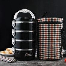 Fiambreras de metal para uso en el hogar fiambreras de metal para uso en el hogar, contenedor de comida saludable para uso en colegios infantiles